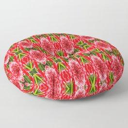 FloralBlitz Floor Pillow