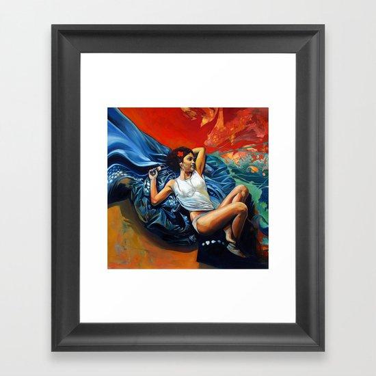 Yann Framed Art Print