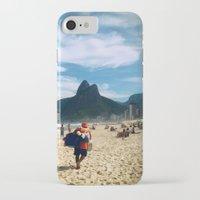 rio de janeiro iPhone & iPod Cases featuring Rio de Janeiro 2 by lulindemann