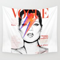 vogue Wall Tapestries featuring VOGUE III by Irene D'Anto'