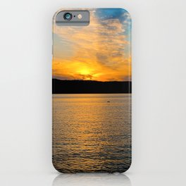 New York Sunset iPhone Case
