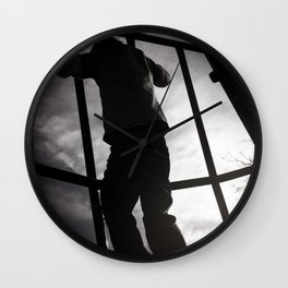 Climbing the Grid Wall Clock