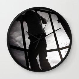 Climbing the Grid Wall Clock