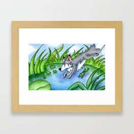 Wolf Pond Framed Art Print