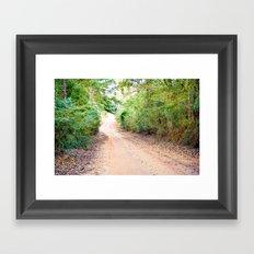 Road to Home Framed Art Print