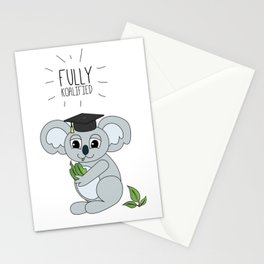 Sleepy Koala Stationery Cards