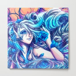Azula- Rose Fairy Metal Print