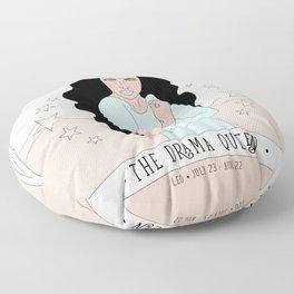 Leo - The Drama Queen Floor Pillow