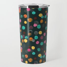 Painted Polka Travel Mug