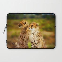 Pair of Cheetahs Laptop Sleeve