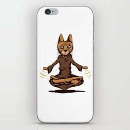 Jedi cat iPhone Skin