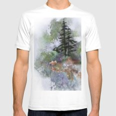 Walk to the Point Mens Fitted Tee MEDIUM White