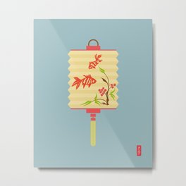 Chinese Antique - Lantern Metal Print