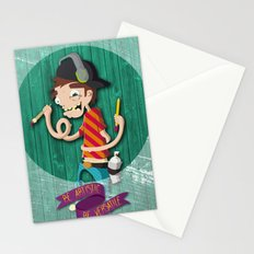 Be Artistic, be versatile Stationery Cards