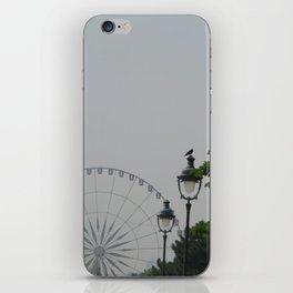 PLACE DE CONCORDE FERRIS WHEEL - PARIS iPhone Skin