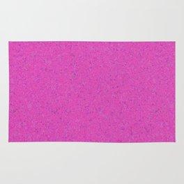 Magenta Abstract Watercolor Rug