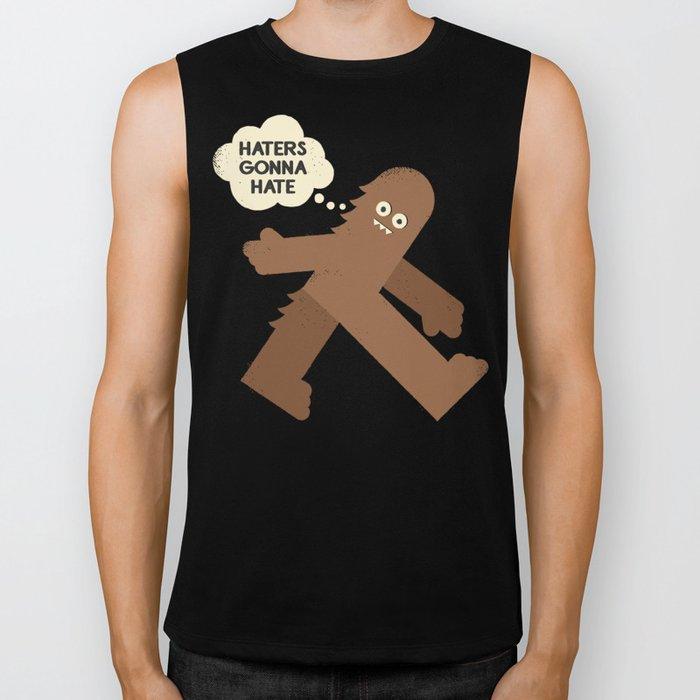 Bigfoot Has So Many Haters Biker Tank