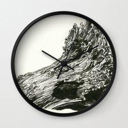 Abrupt Wall Clock