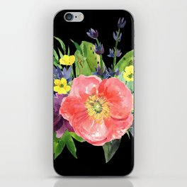 Floral Pick iPhone Skin