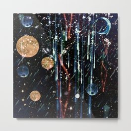 Rain From the Planets Metal Print