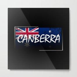 Canberra Metal Print