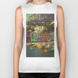 Capri, Italy Biker Tank