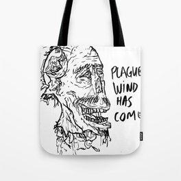 PLAGUE WIND Tote Bag