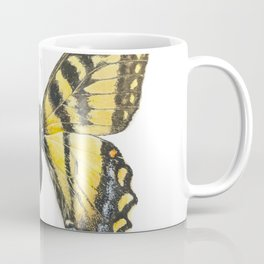 Eastern tiger swallowtail butterfly, papillon glauque Coffee Mug