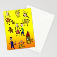 Children Collage Stationery Cards