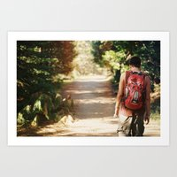 Experiment with Nature Art Print