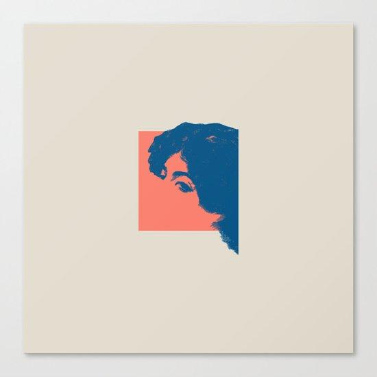 Abschied Canvas Print