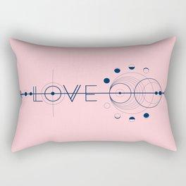 Love Cosmic Arrow Rectangular Pillow