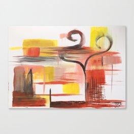 Love Swans Canvas Print