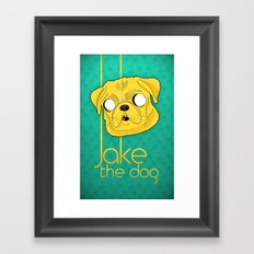 Jake the dog Framed Art Print