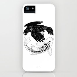 A Bird May Love a Fish iPhone Case