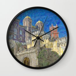 Palacio da Pena Wall Clock