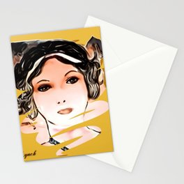 Trip To The Nineteen Twenties Stationery Cards