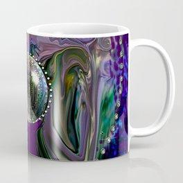 Gypsy and her Crystal Ball-abstract Coffee Mug