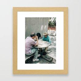 Chinatown (Boston) Framed Art Print