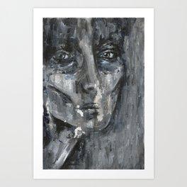 Dark Circles Art Print