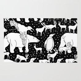 Polar gathering Rug