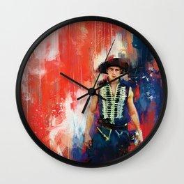 The Masked Bandit Wall Clock