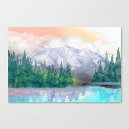 Majestic Mountain Canvas Print