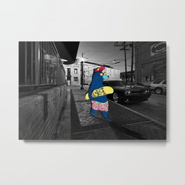 Cool Bear Metal Print
