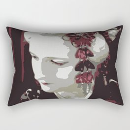 the fair-haired geisha Rectangular Pillow
