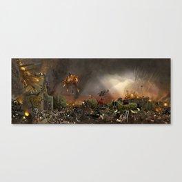 Apocalypse Leeds Canvas Print