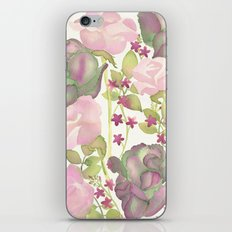 Autumn Bouquet - Kale & Rose iPhone Skin