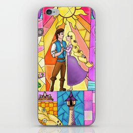 Rapunzel Window iPhone Skin