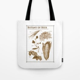 Botany of Beer Tote Bag