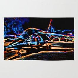 Neon Jet Rug